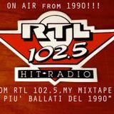 RTL-1990-RADIO MIX SPECIAL - i PIU' BALLATI del 1990-SAK!