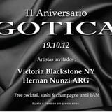 Mix Aniversario Gotica 2012