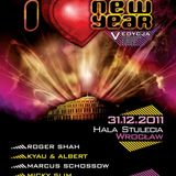 Simon & Fang @ I Love New Year (Power Hour Live Mix), Centennial Hall, Wroclaw - 31.12.2011