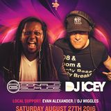 Live at Donald Glaude and DJ Icey (8-27-16 at 45 East in Portland, OR)