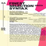 Albert Schweitzer (Live PA) @ Finest Selection Meets Syntax - Distillery Leipzig - 09.03.2013