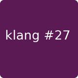 klang#27