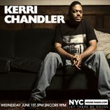 Kerri Chandler On NYCHOUSERADIO.COM 2016