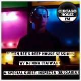 Queen Bee's Deep House Sessions on Chicago House FM w/ guest DJ Inspecta (Seaside Project)