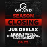 2017.04.22. - Season Closing - GRAND Club, Budapest - Saturday