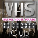 "Nick Adamz (opening set) at ""Vintage House Soundz #1"" @ iClub (Avelgem - Belgium) - 12 January 2019"