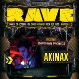 Akinax - DJ SET - 28/10/2017 @ Rave - Darshan Project