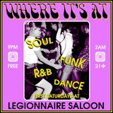 Where It's At -5 Year Anniversary Soul, Funk & R&B Mix