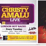 Christy Amalu on London Hott Radio 190917