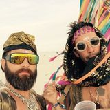 Yolanda Be Cool – Pink Mammoth - Burning Man 2015