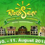 Rise & Shine Promo Mix 2012 - Falkenstein Austria