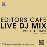 EDITORS CAFE_LIVE DJ MIX _VOL.1_ DJ HARU「秋の夜長の和モノMIX」