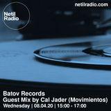 Batov Records w/ Cal Jader - 8th April 2020