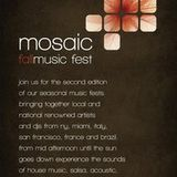 Mosaic Fall Music Fest Opening Party (Recorded Live)