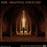 MDB - BEAUTIFUL VOICES 020 (LISA GERRARD SPECIAL EDITION)