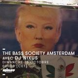The Bass Society Amsterdam : Nixus invite Yuda (Bass Jam Radio) - 15 Octobre 2017