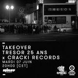 Tresor Take Over 25 ans x Cracki Records: Renart - 07 Juin 2016