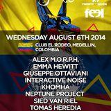 Interactive Noise - Live @ FSOE 350, Club El Rodeo (Medellin, Colombia) - 06.08.2014