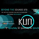 Beyond The Sounds with JTB 070 w/Monthly Special Guest Kuno (15 Sep 2015)