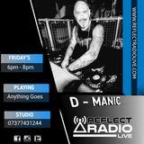 DJ D-Manic Reflect Radio 28 SEP 2018