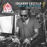 Eduardo Castillo - Live at UR ART Festival - Sunday July 20 2014