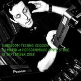 Mario Corleone - Darkroom Techno Session live 13 september 2013 - GROOVY TRAX N°04 -