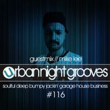 Urban Night Grooves 116 - Guestmix By Mike Lee