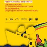Igor Jadranin @ 20/44 boat, Belgrade (February, 15th 2013) - Live set!
