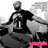 The Invaderz Launch promo mix.