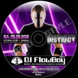 DJ FlowBoy - District 4 Compilation - SWISS HARDSTYLE MIX - 2012