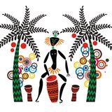 Tropical Afro influenced dance floor stuff.