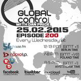 Dan Price - Global Control Episode 200 (25.02.15)
