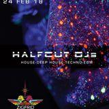 Halfcut DJs - Live @ Zigfrid - The early third!