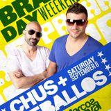 Chus & Ceballos - Live @ Brasil Day Weekend, Pacha Club, Nova Iorque, E.U.A. (08.09.2012)
