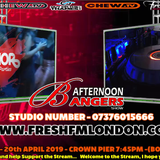 Mr Fresh Official's  Afternoon Banger's Show