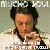 Mucho Soul B2B Radio Show 29.03.15