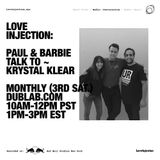Words – Love Injection with guest Krystal Klear (12.17.16)