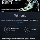 Gabriel Ben Presents - Tektronic 073 (May 2015) with guest Richie Santana