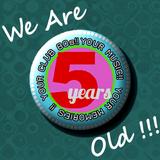 CLUB 80s @ RADIO CRASH 5TH BIRTHDAY SHOW PART 1