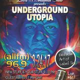 Underground Utopia Exclusive Guest Mix For The Linda B Breakbeat Show On ALLFM On 96.9 fm
