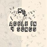 Adele in 4 songs