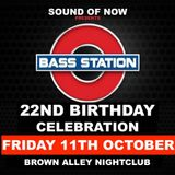 Bass Station 22nd Birthday Warm up party mix 2