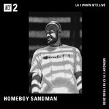 Homeboy Sandman - 12th November 2018