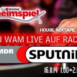 DJ WAM - House Mixtape 2014 (Radio Sputnik Heimspiel 16.11.2014