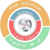 Sinawi&Gello Geens - The Source Radio #3