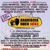 # 129 Arariboia Rock News - 22.03.2017 - Especial Lollapalooza Brasil 2017