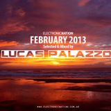 ElectronicNation 003: February 2013 (Mixed by Lucas Pälazzo)