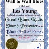 Wall to Wall Blues 14 December 2015 presented by Les Young