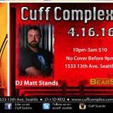 Furnace live at Cuff Complex DJ Matt Stands 4.16.16