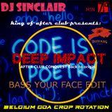 DJ SINCLAIR HM79 DEEP IMPACT king of minimal after club edit
